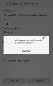 Configuración de Gmail en Android