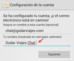 Correo electrónico en Android