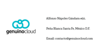 Genuino Cloud