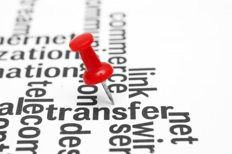 Transferir dominio
