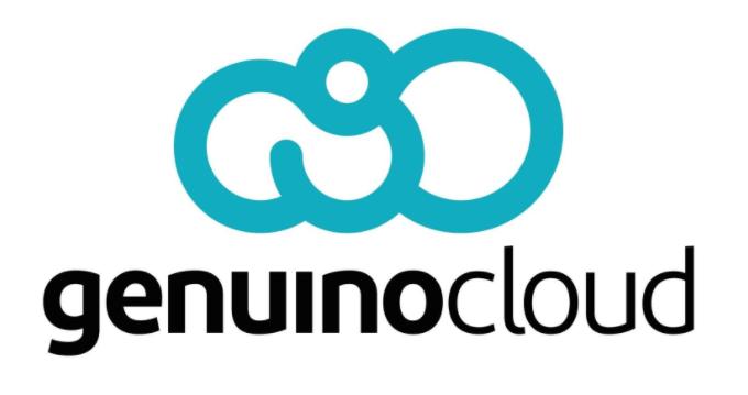 Genuino Cloud logotipo