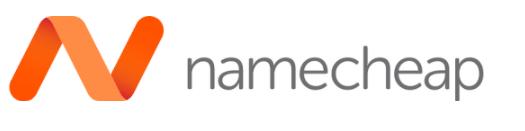 Namecheap proveedor de correos electrónicos